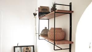 decor corner hidden shelf brackets for wall decoration ideas