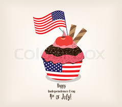 vector illustration of birthday background with birthday cake