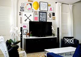 how to do a gallery wall 14 ideas solutions for a gallery wall behind the tv