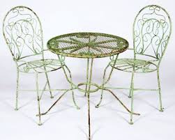 ice cream table and chairs wrought iron childs ice cream chair or table