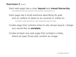 visual layout meaning anselm spoerri lecture 4 overview exercise 2 meaning web design