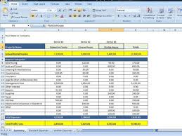 Property Management Excel Template Rental Income And Expense Excel Spreadsheet Property Management