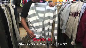 Thrift Shop Los Angeles Ca Summer Fashion Thrift Store Finds Guys Edition Youtube