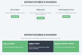 Green Color Scheme by Baton Wordpress Theme Features Widgets Slocum Themes