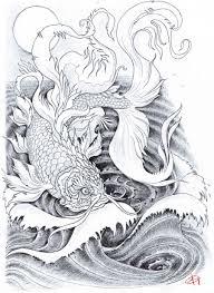 koi carp tattoo images golden carp tattoo by koggg on deviantart
