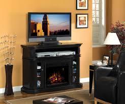 electric fireplace media interior design