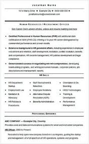 recruiting manager resume template chronological resume templates sle cv what chronological