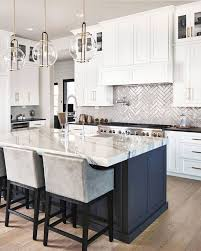 white kitchen cabinets with colored island 8 trendy ideas to enhance white kitchen cabinets