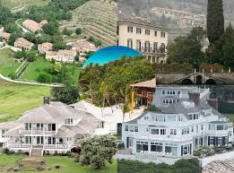 George Clooney Home In Italy The Battle Of The Celebrity Vacation Homes Which A Lister Has The