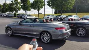 convertible mercedes 2017 introducing the 2017 mercedes benz c300 cabriolet youtube