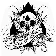 skull spades clever ace of spades