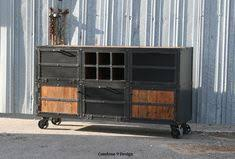 custom made metal storage cabinets distressed liquor storage cabinet by coletrainproductions on etsy