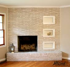 top photos of painted brick fireplaces artistic color decor
