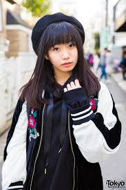 one spo harajuku students in matching sukajan jackets by one spo bubbles