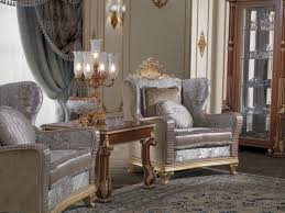 classic armchair classic armchair in carved wooden and velvet idfdesign