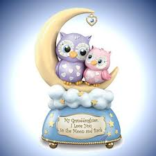 granddaughter gifts collectibles my granddaughter i you to the moon and back box with