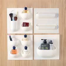 Cheap Bathroom Storage Units 1 4 Units Wall Mounted Storage Holder Bathroom Organizer Shelf For
