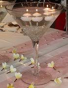 Extra Large Martini Glass Vase Jumbo Martini Glass Many Designs Great For Wedding Centerpieces