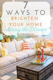Winter Home Decor Thrifty And Chic Diy Projects And Home Decor