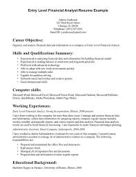 Sample Resume Job Objectives by Derivatives Analyst Cover Letter