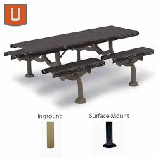 Commercial Outdoor Tables 7 Ft Rectangular Commercial Outdoor Tables Camden Collection