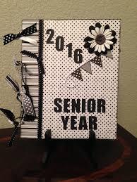 senior memory book custom senior year memory book graduation scrapbook senior