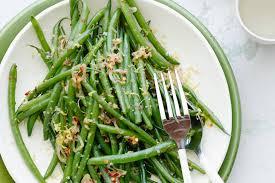 spicy garlic green beans