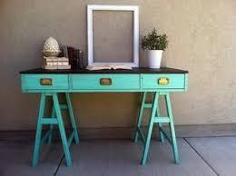 bureau coloré moody s match mon bureau vintage métal ou coloré paperblog