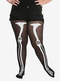 Plus Size Skeleton Leggings Plus Size Clothing Topic