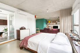 open apartment in brazil