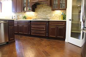 Painted Wood Floors Ideas by Kitchen Floor Alert Hardwood Floor In Kitchen Kitchen Tile