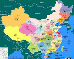 A Map Of China by Raspberry Travel China Overview