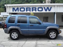 jeep 2005 liberty 2005 atlantic blue pearlcoat jeep liberty sport 4x4 16268167