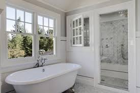 bathroom designs with clawfoot tubs bathroom with clawfoot tub and shower traditional cottage