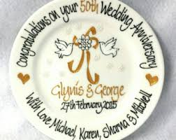 60th wedding anniversary plate wedding anniversary etsy