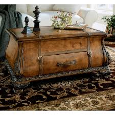 butler bombe trunk coffee table heritage hayneedle