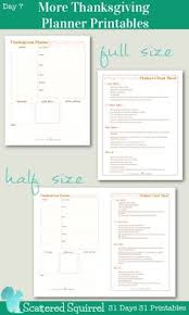 gobble guide a free printable thanksgiving planner to help