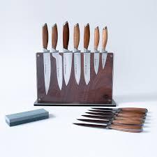 schmidt brothers cutlery bonded teak series 15 pc block set