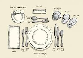 table setting the rules for setting your holiday table and why they matter the