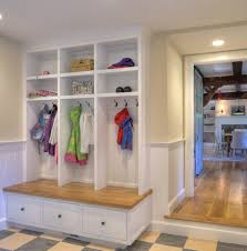 Mudroom Storage Ideas Sized Mudroom Ideas Entry Farmhouse With Wainscoting Double Front