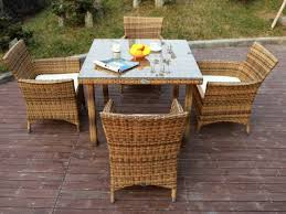 enchanting plastic wicker patio chairs with stainless steel