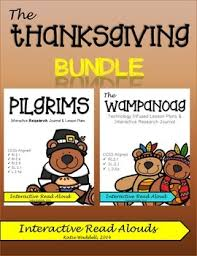 thanksgiving interactive research journal lesson plans by
