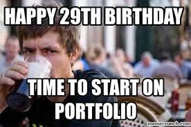 29th Birthday Meme - 29th birthday