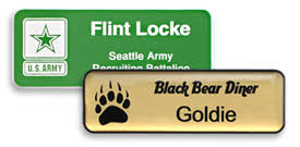 gold name tag magnetic name tags name tag inc