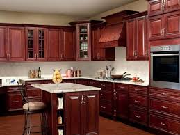 Staggered Cabinets Kitchen 9 Kitchen Natural Knotty Alder Showing Staggered