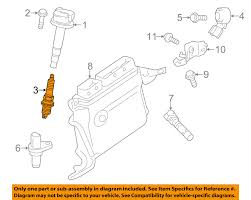 toyota oem ignition spark plug 9091901275 ebay