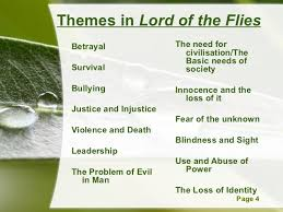 lord of the flies themes and messages 2 lotf qqt
