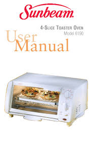 Sunbeam Oven Toaster Search Built In Ovens User Manuals Manualsonline Com