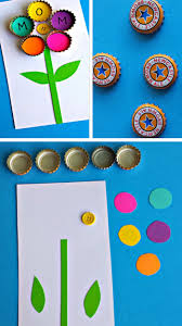sightly easy kids craft for along with easy kids craft blooming