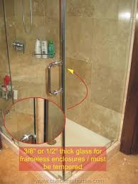 Bathroom Shower Windows Bathroom Window Safety Glass Tempered Glass In Bathrooms